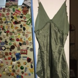 🆑🆑2/$5 VTG Vs CaMi nightie silk top chemise
